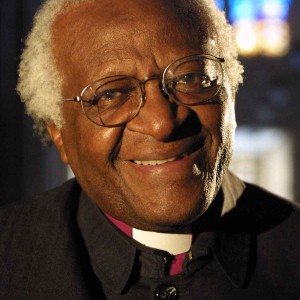 Nobel Peace Prize recipient Archbishop Desmond Tutu
